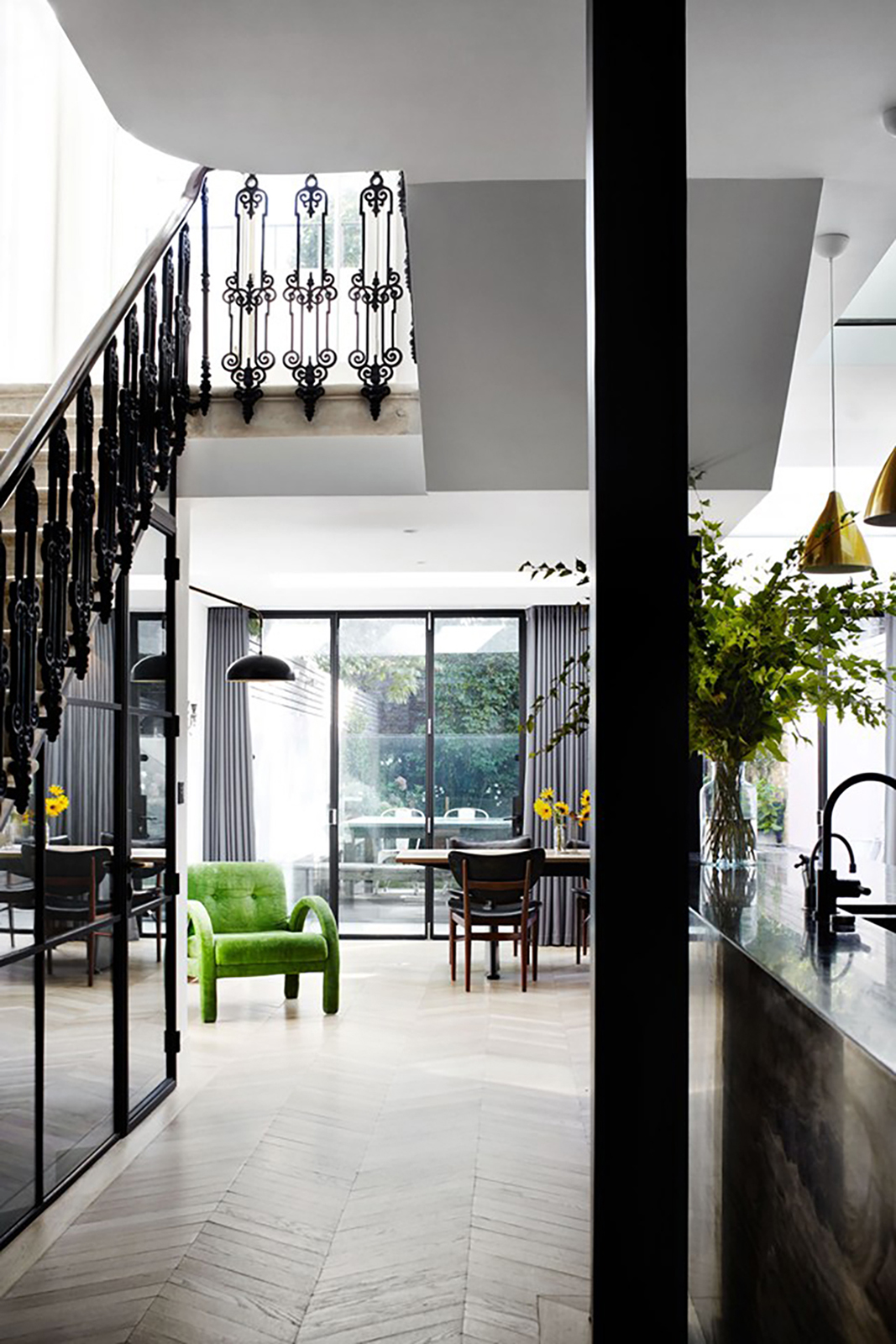 House Crush A Stunningly Chic London Townhouse Tpw