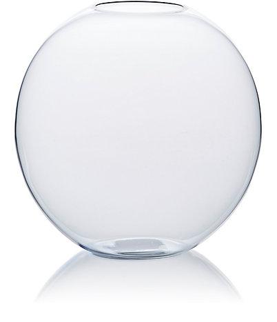 LOBMEYR GLASS Medium Crystal Flower Vase $196