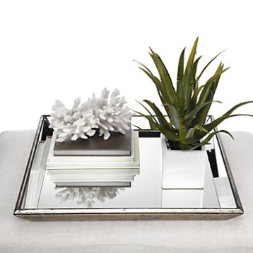 PASCUAL Mirrored Tray $99.95