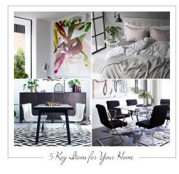 5 Key Items for Your Home