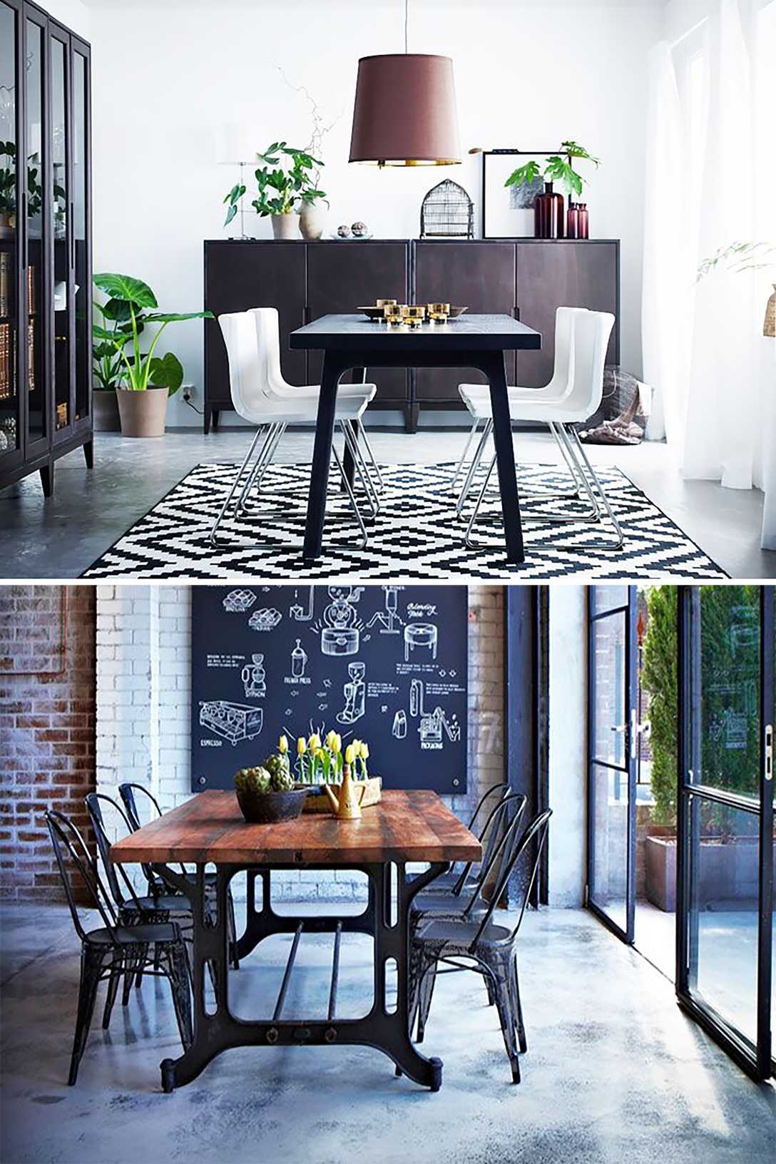 key items dining table
