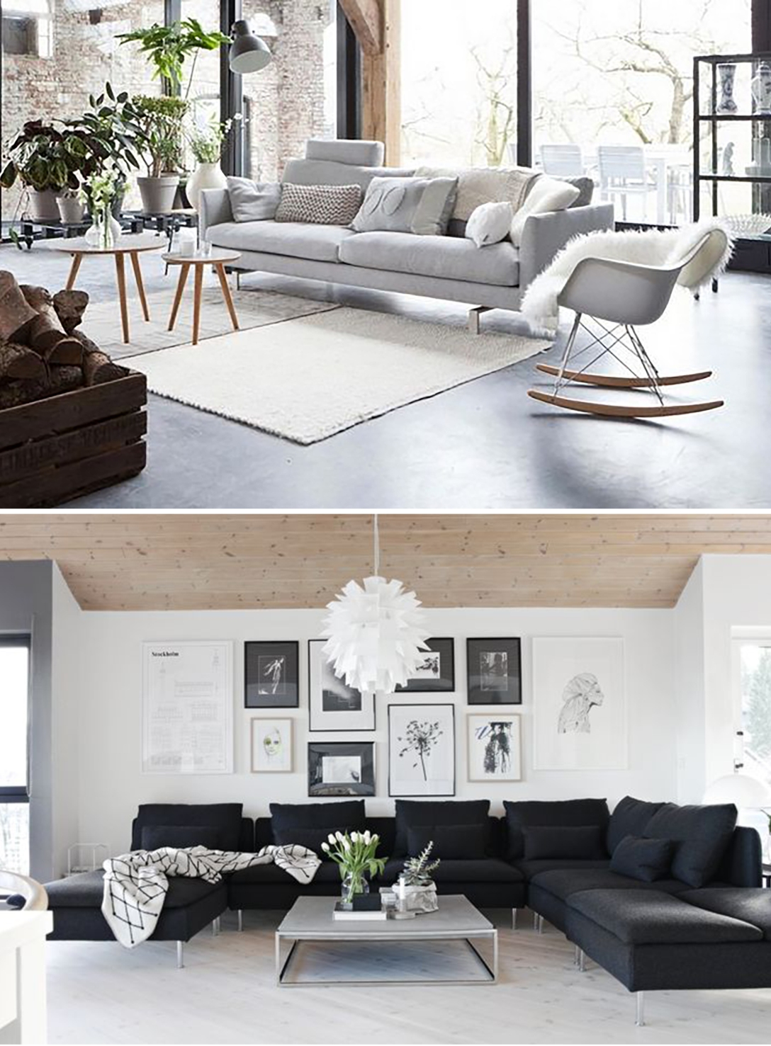 key items sofa