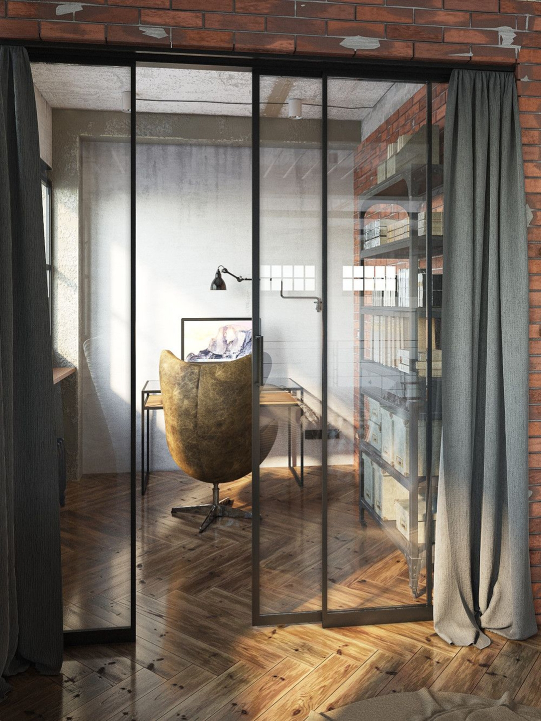 private-study-industrial-loft