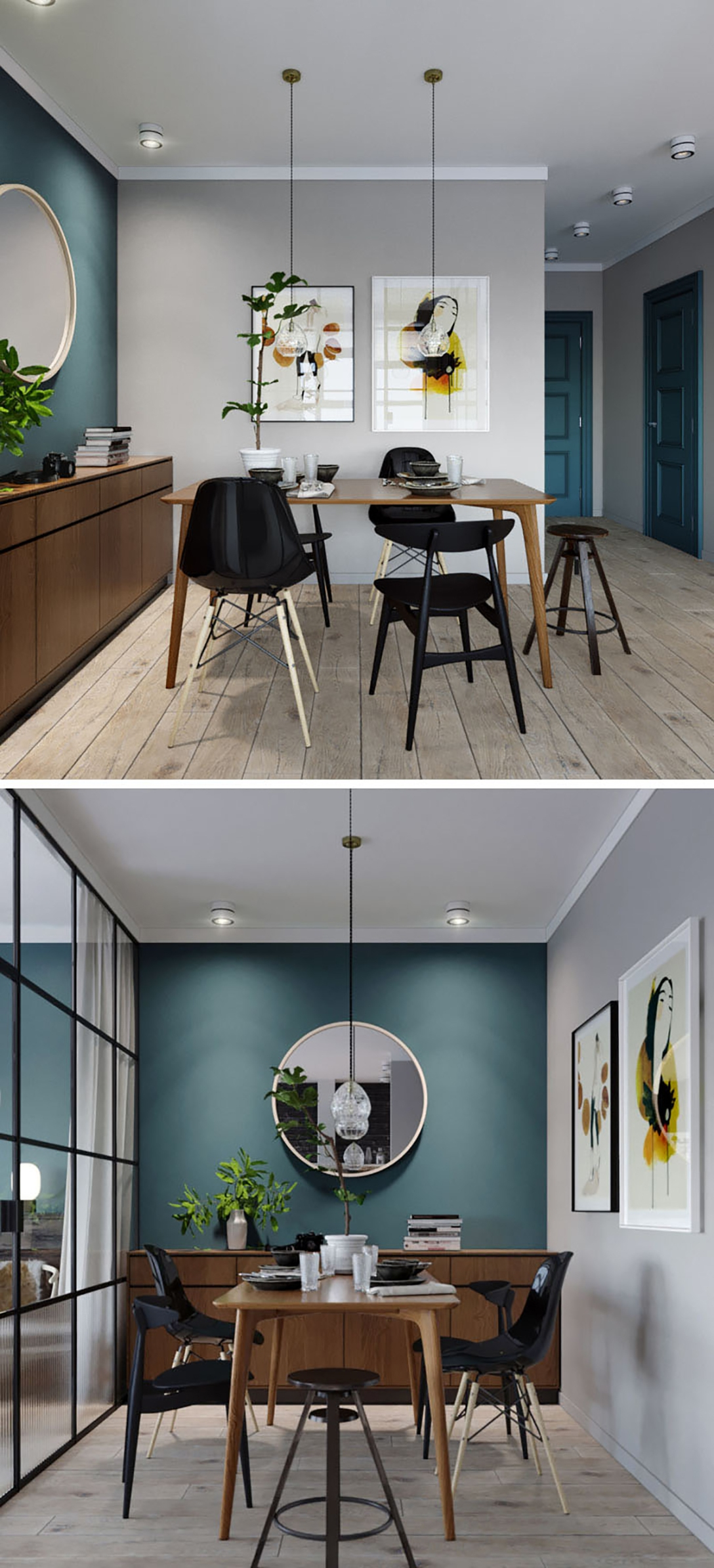 small-dining-room-deep-teal-accent-wall-170517-924-03-2