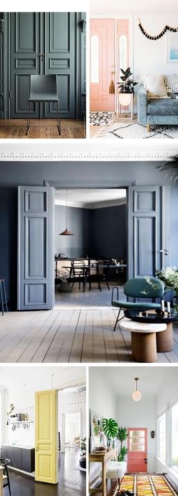 DIY: Painted Doors